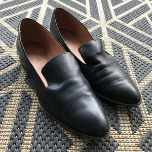 Madewell Olson Black Loafers Size 9.5
